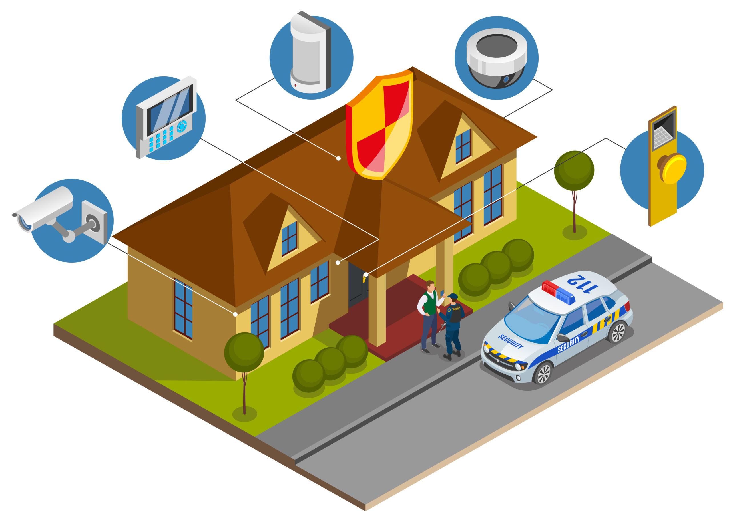Komponen Perancangan Sistem Kamera CCTV